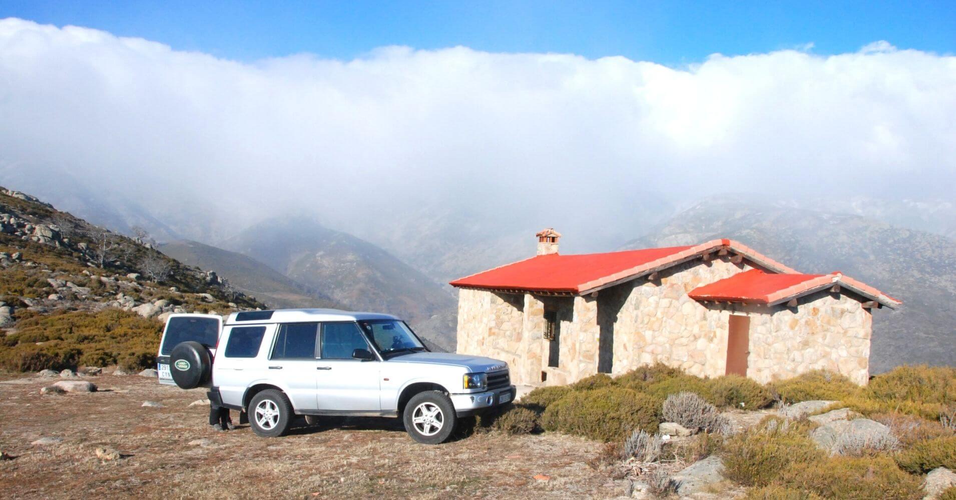 Ruta 4X4 Refugio del Brezo. Valle de la Vera. Losar de la Vera. Cáceres. Extremadura.