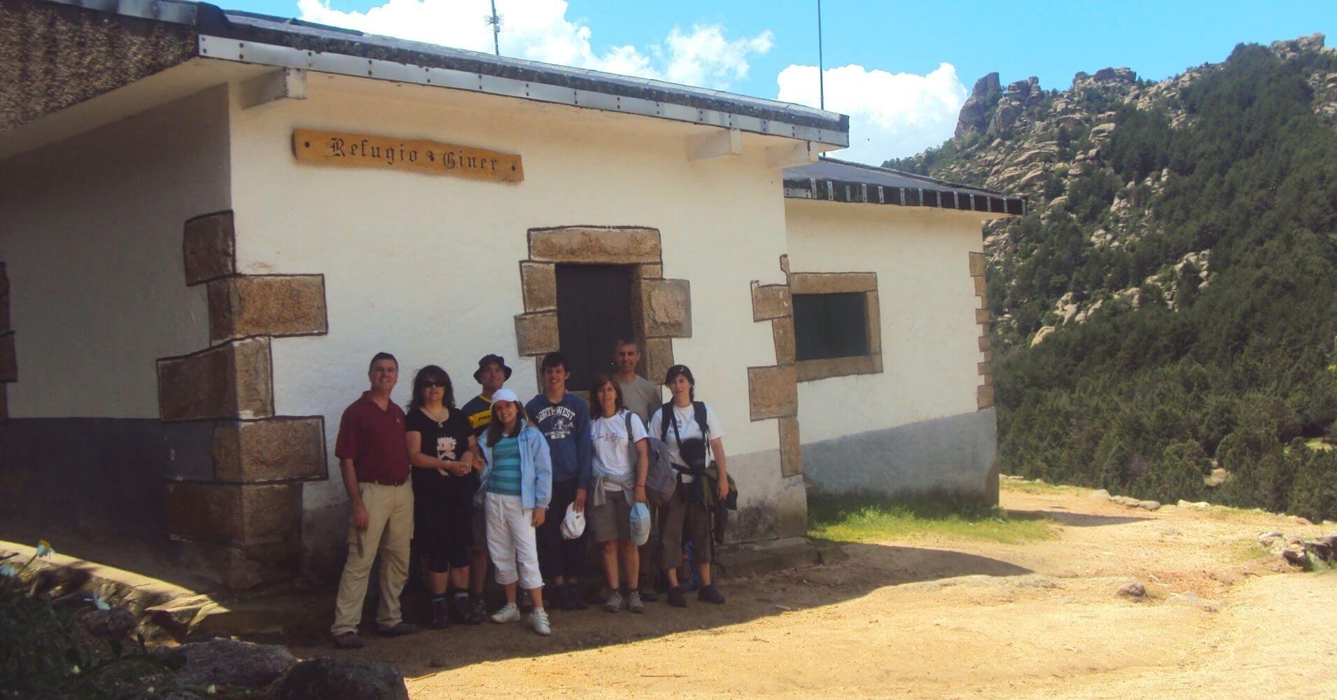 Refugio Giner de los Ríos. Parque Nacional Sierra de Guadarrama. Manzanares El Real, Comunidad de Madrid.