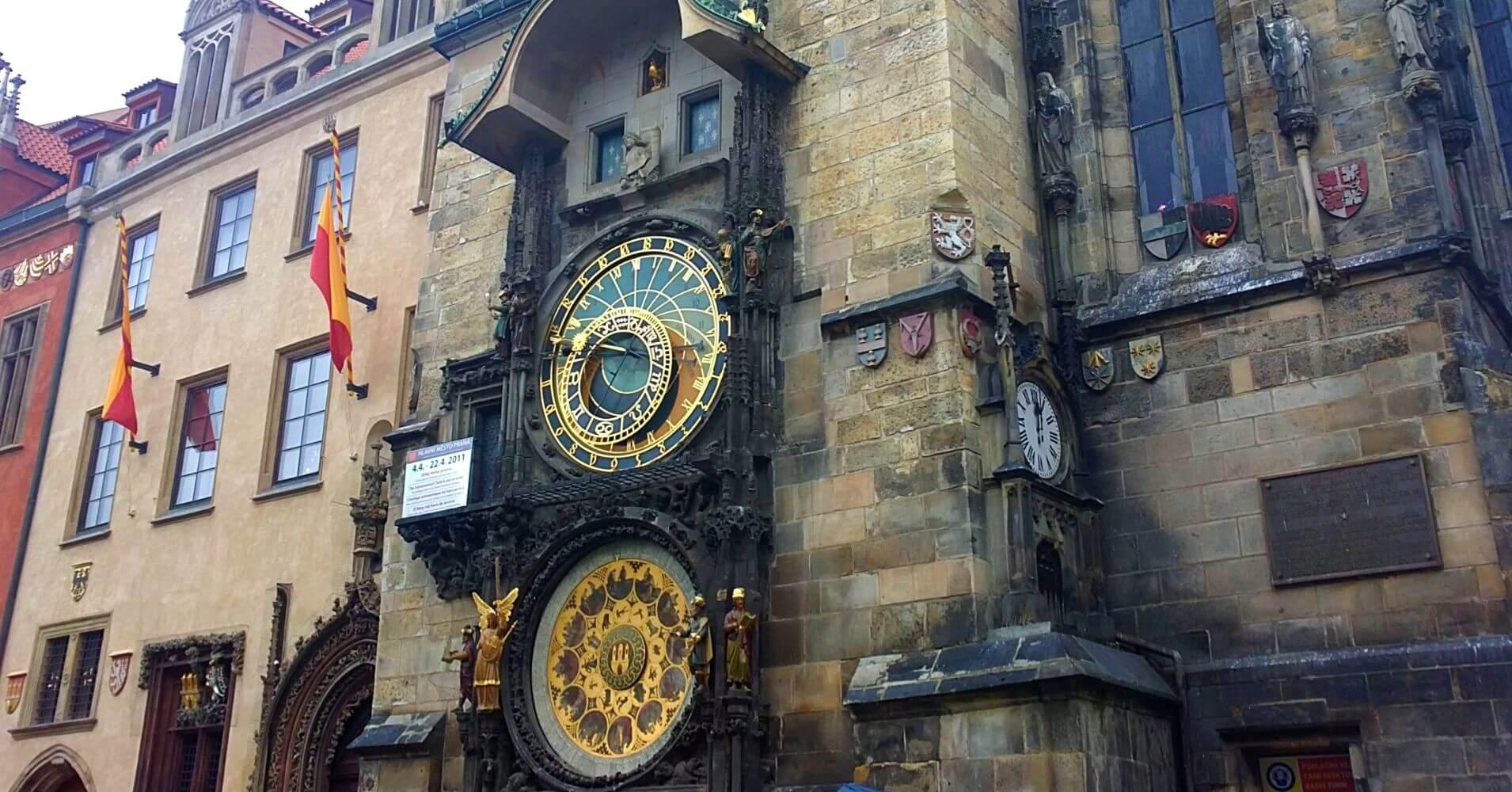 Reloj Astronómico de Praga Capital de Bohemia. República Checa.