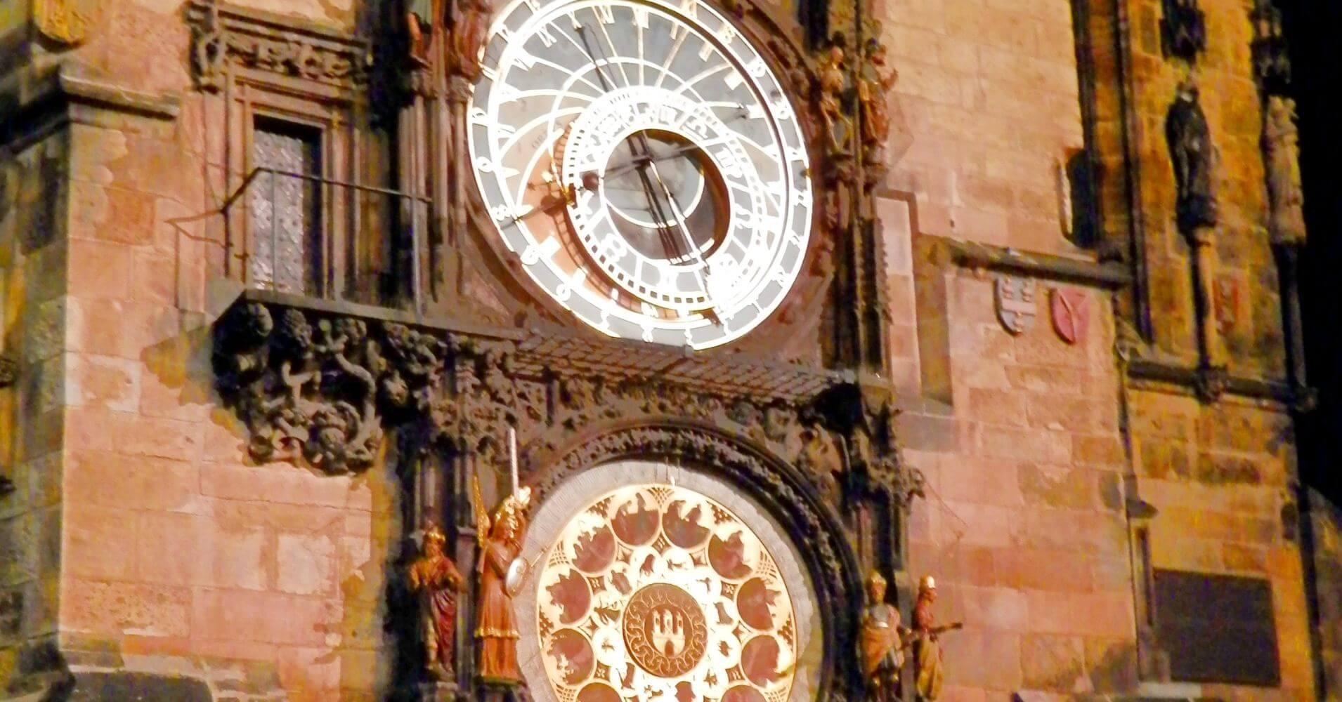 Reloj Astronómico de Praga. República Checa.