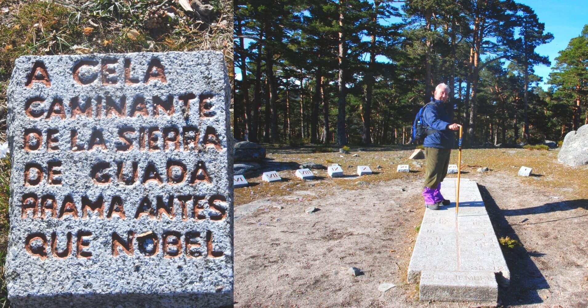 Reloj de Cela. Bosques del Valle de la Fuenfría. Comunidad de Madrid.