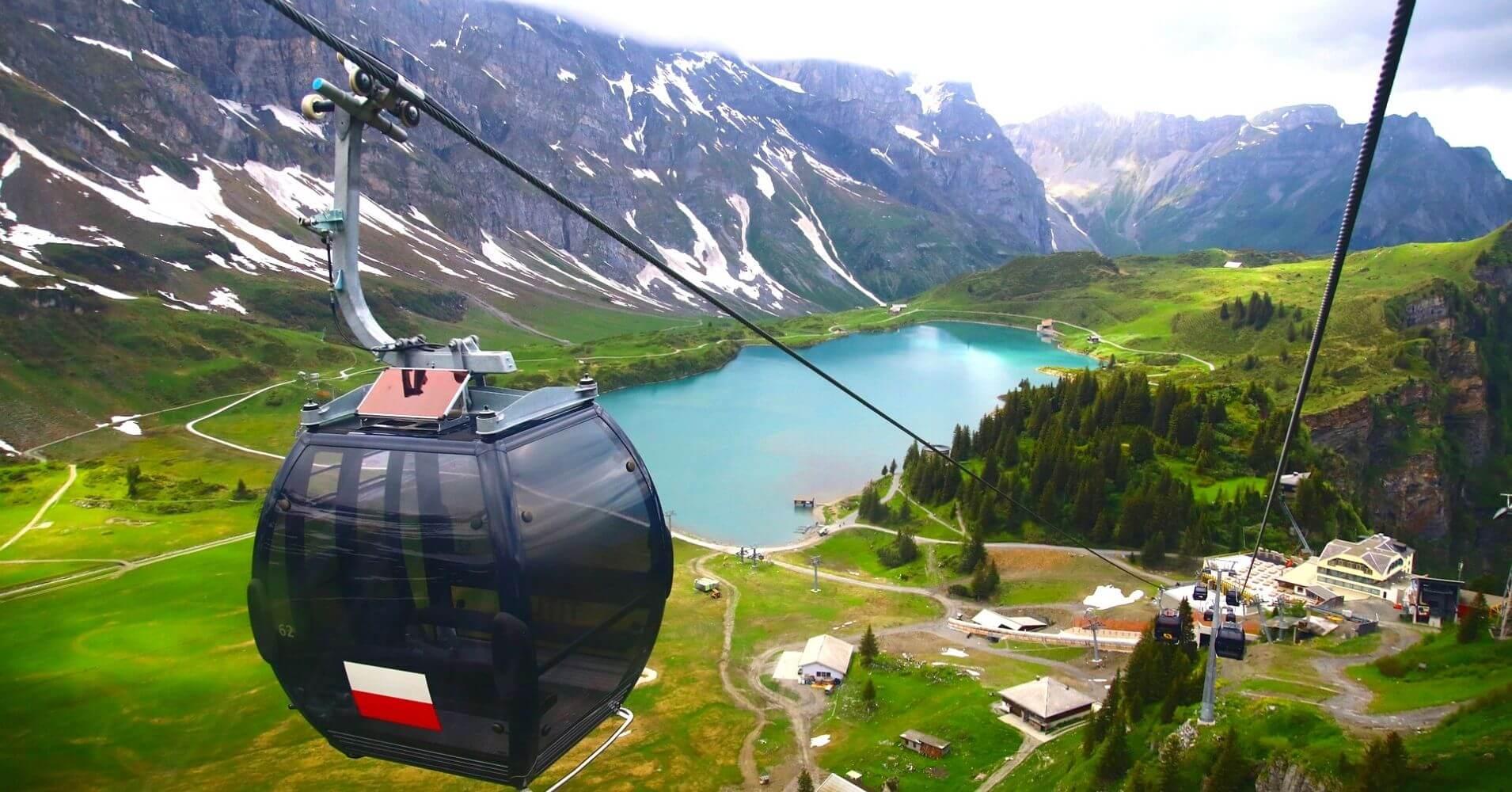 Remonte Titlis, Lucerna. Suiza.