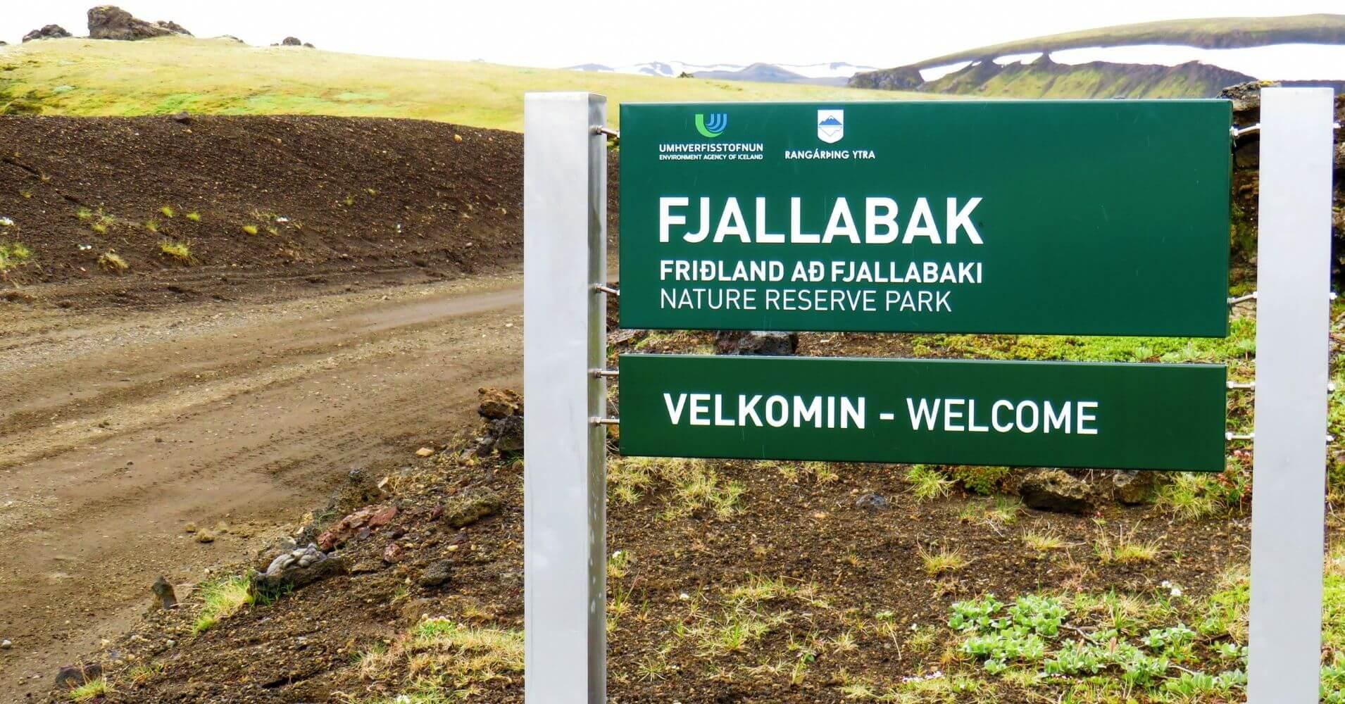 Reserva Natural de Fjallabak. Landmannalaugar Tierras Altas de Islandia.