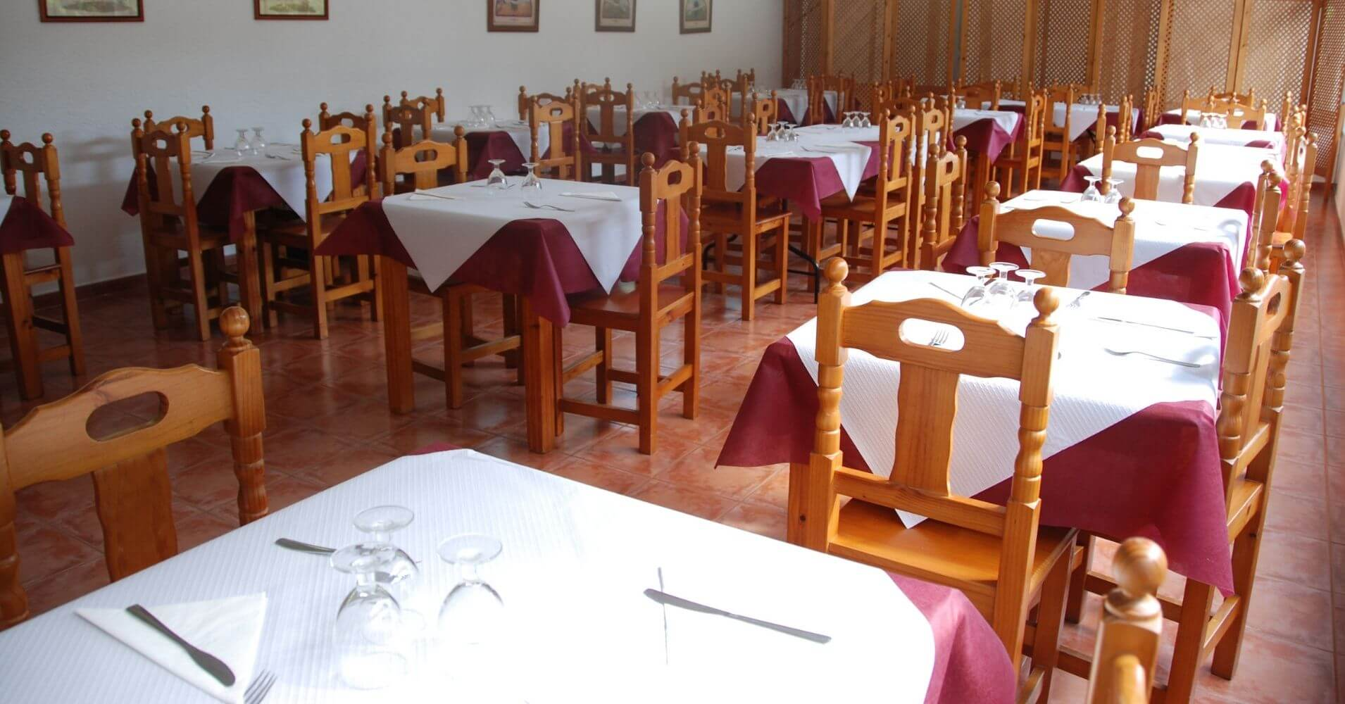 Restaurante del Camping Jaranda. Jarandilla de La Vera. Cáceres. Extremadura.