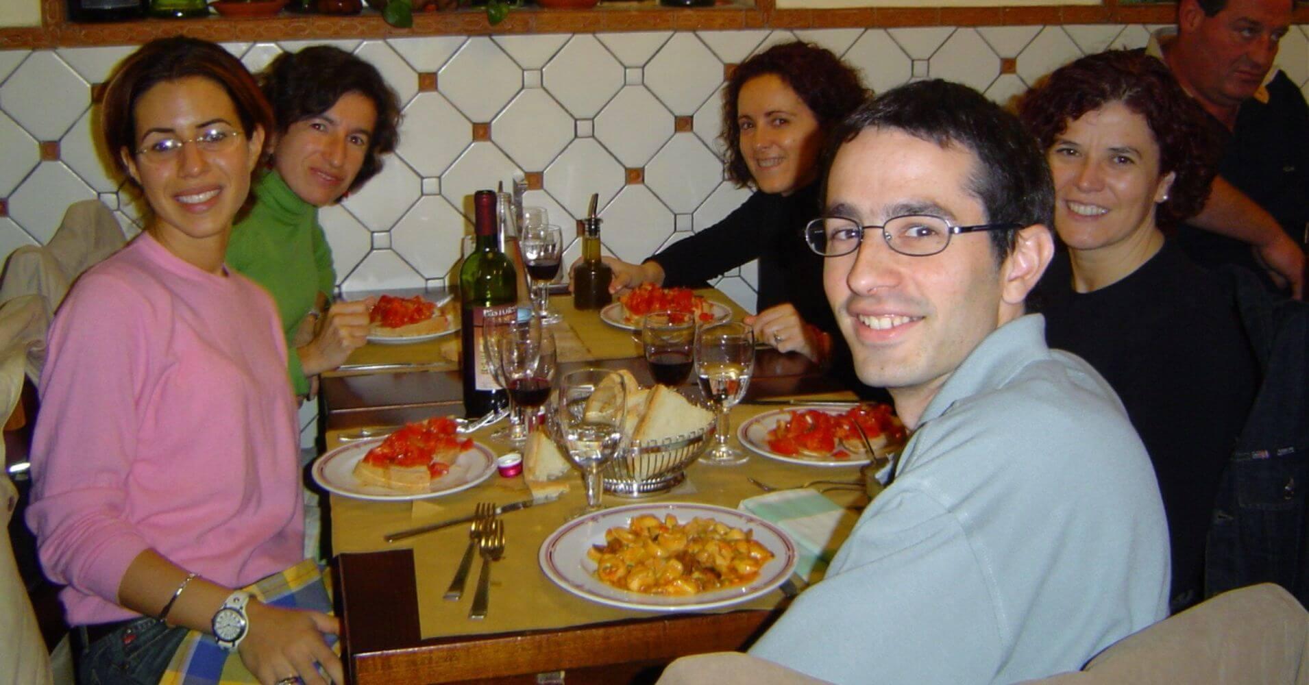 Restaurante la Spada. Florencia. Toscana, Italia.