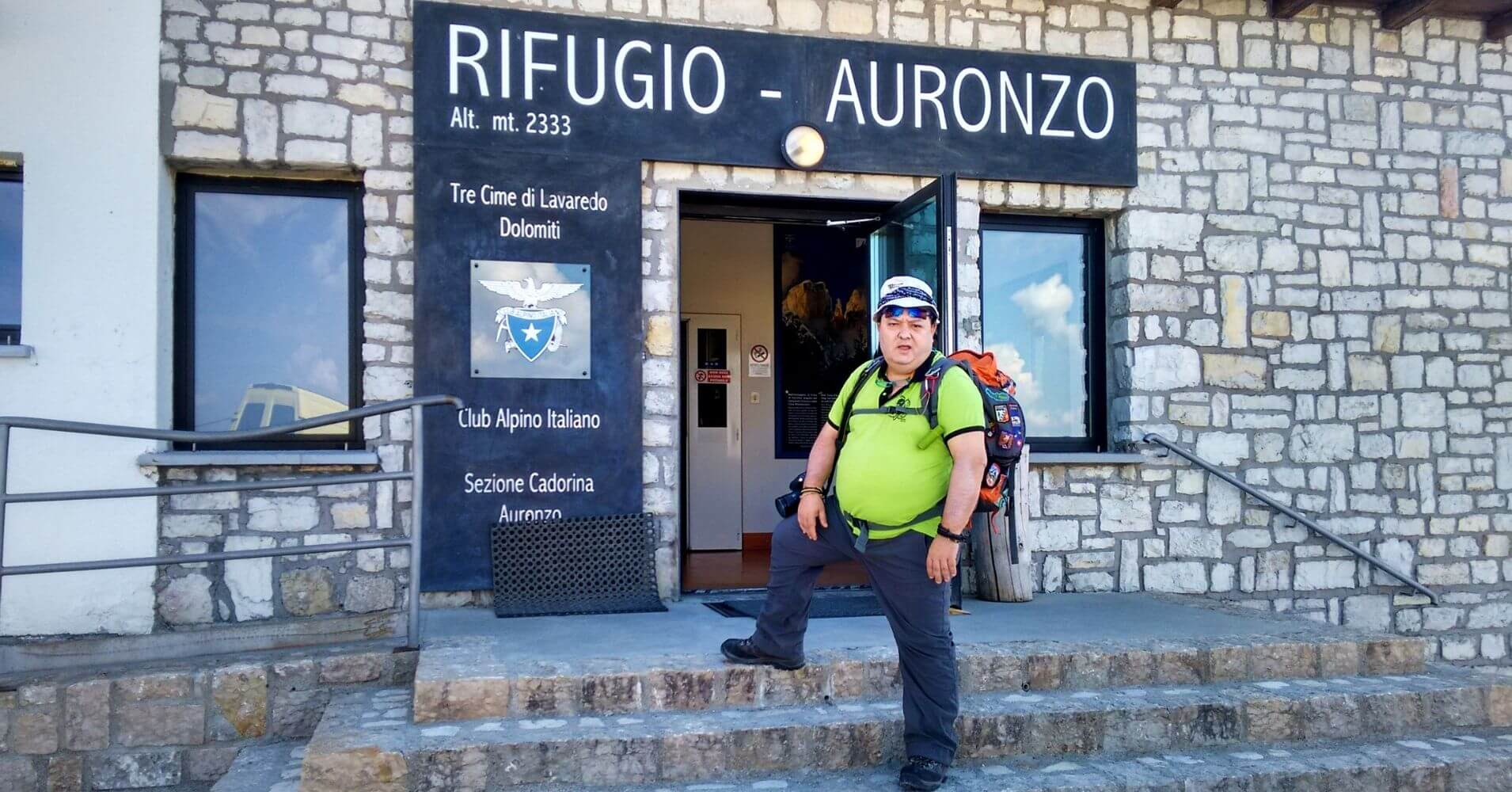 Rifugio de Auronzo. Tres Cimas di Lavaredo. Alpes Dolomitas. Belluno, Véneto. Italia.