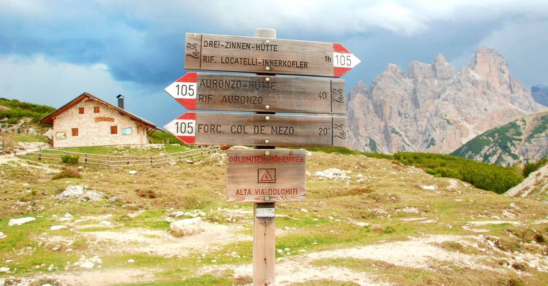 Rifugio de Lange, Langalm. Tres Cimas di Lavaredo. Alpes Dolomitas. Belluno, Véneto. Italia.
