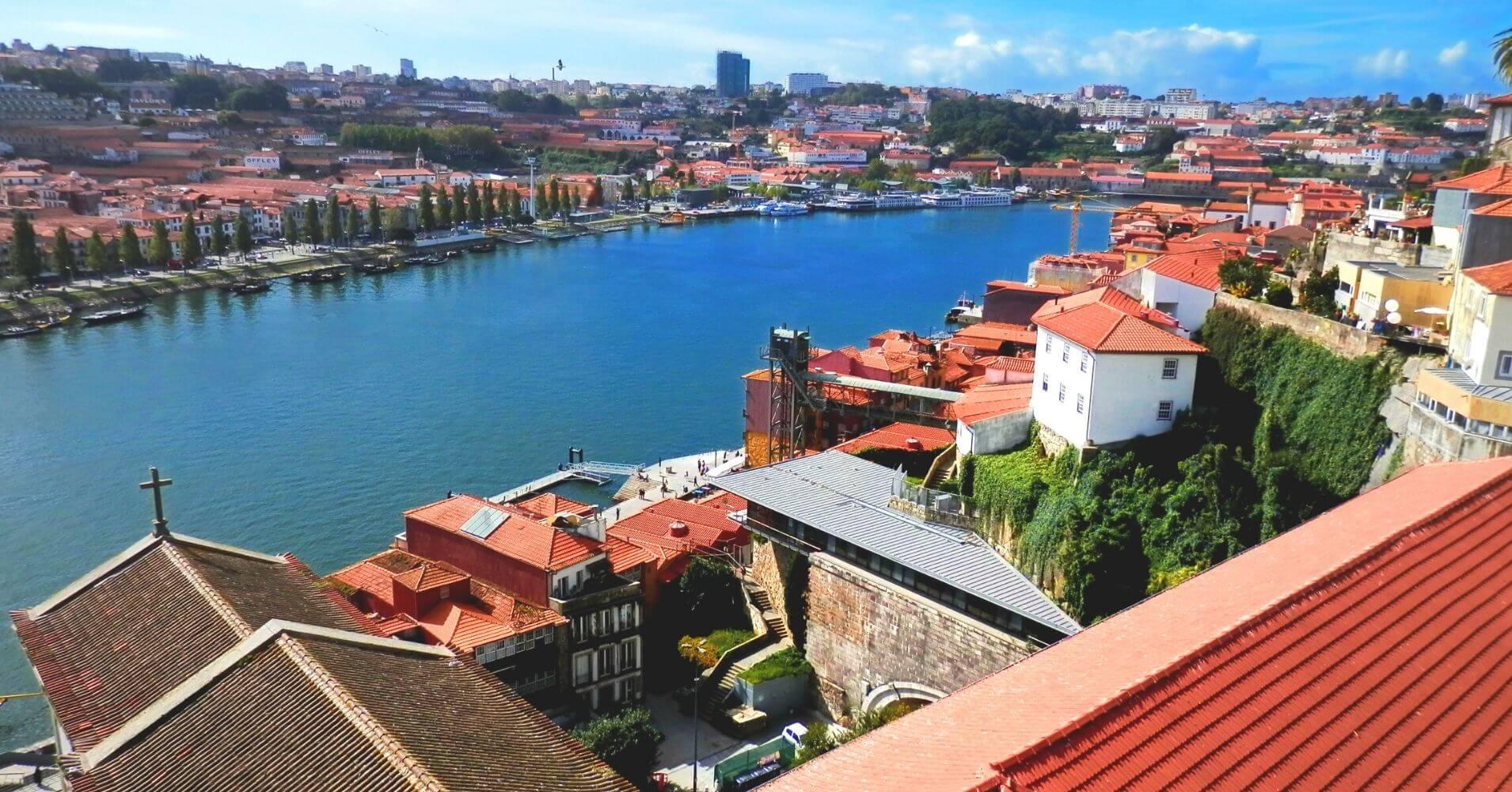 Rio Duero. Porto Escenario de Saudade. Portugal.