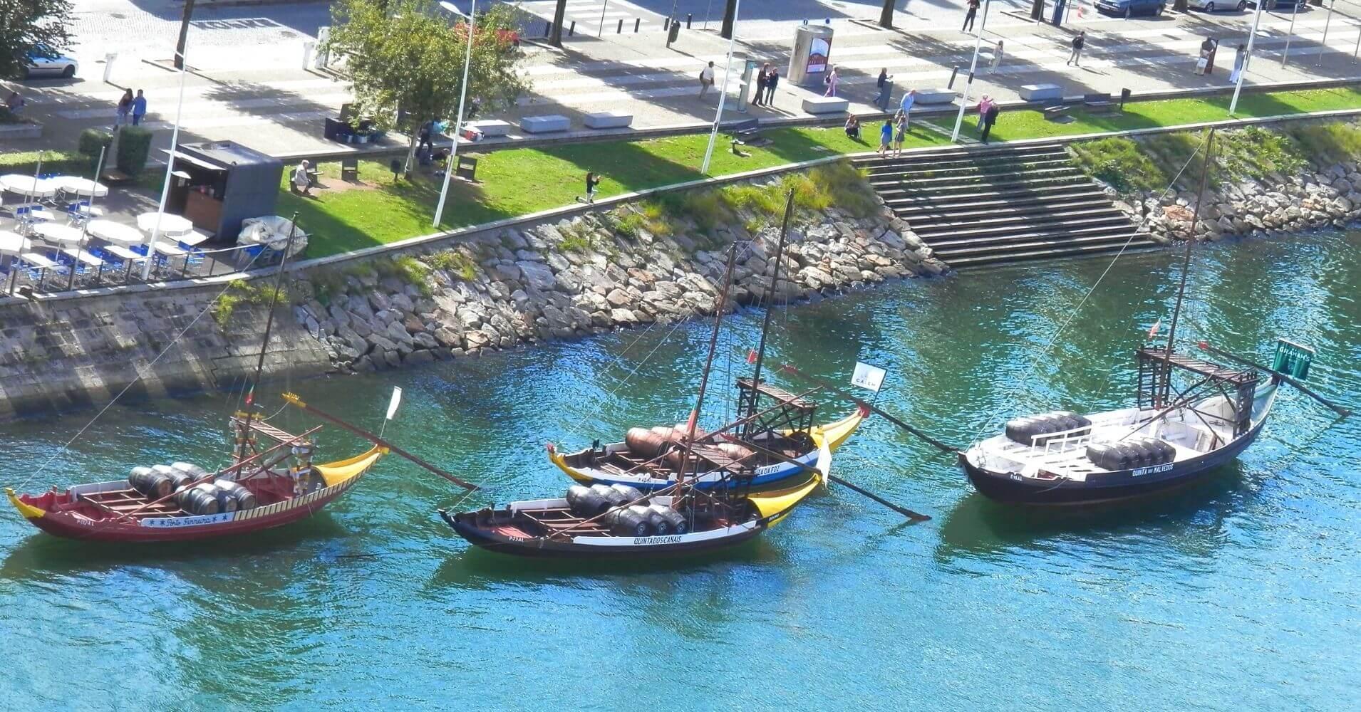 Río Duero. Porto Escenario de Saudade. En Oporto, Portugal.