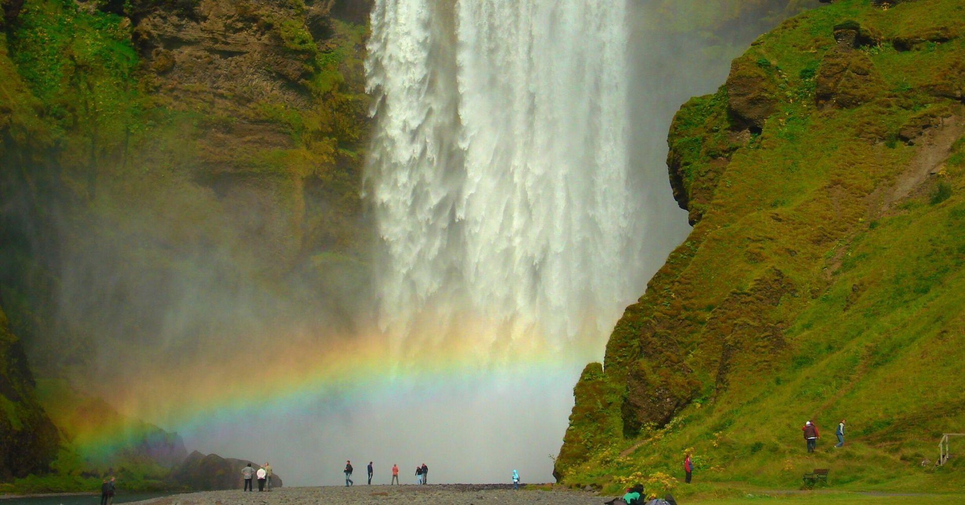 Road Trip por Islandia. Cascada de Skógafoss.