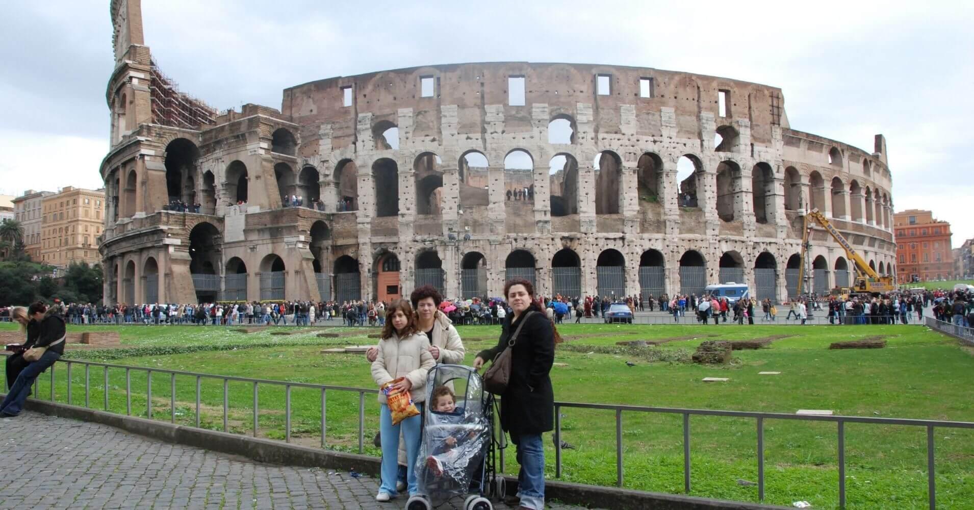 Roma Capital del Imperio.. Coliseo de Roma. Lacio, Italia.
