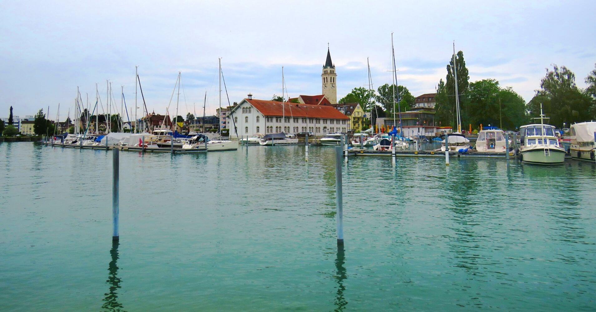 Romanshhorn. Lago Costanza. Suiza.