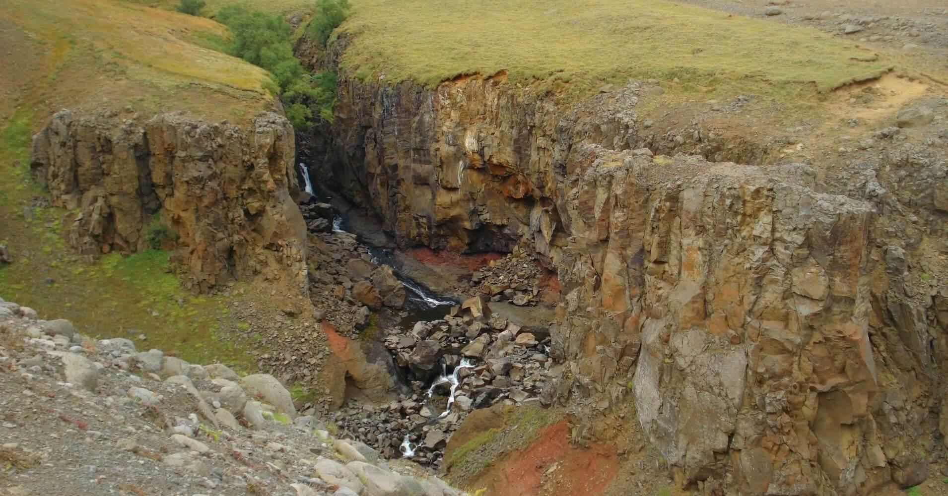 Ruta de Senderismo Hallormsstadur Este de Islandia.