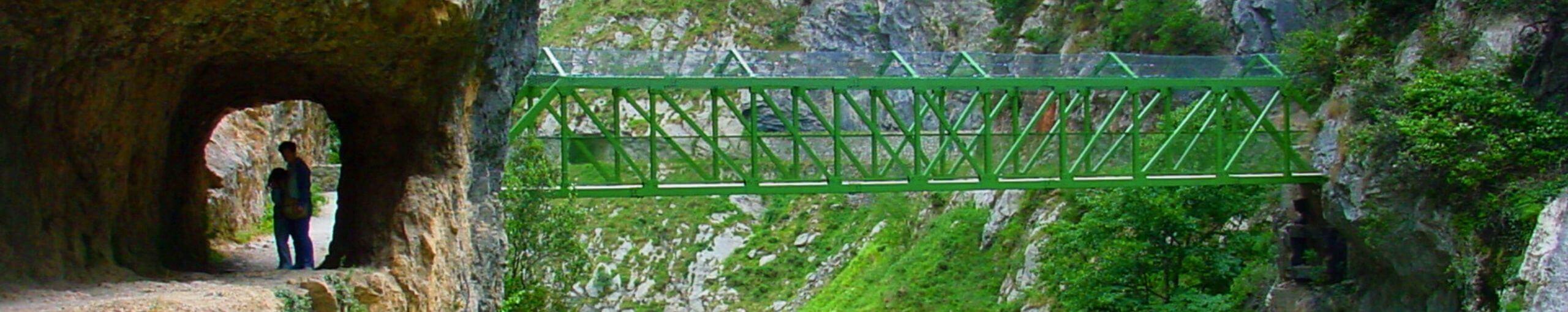 Ruta del Cares, Puente de los Rebecos. Caín, León.