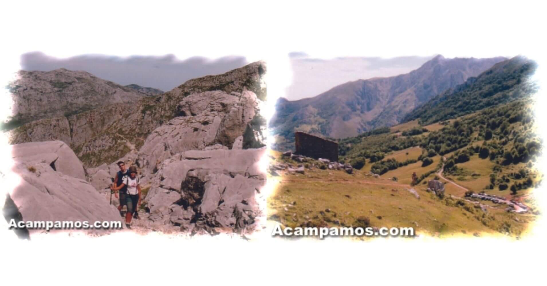 Ruta del Naranjo de Bulnes. Pico Urriellu, Asturias.