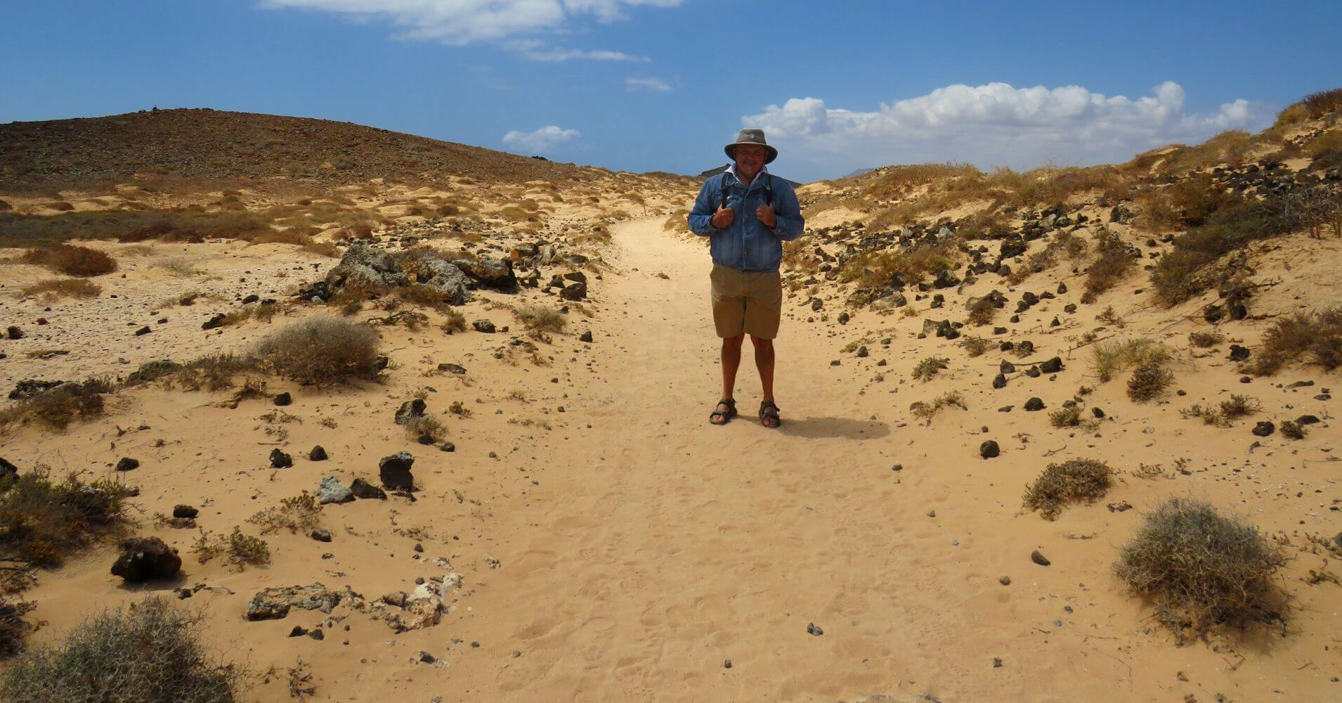 Ruta Isla de los Lobos. Islas Canarias.