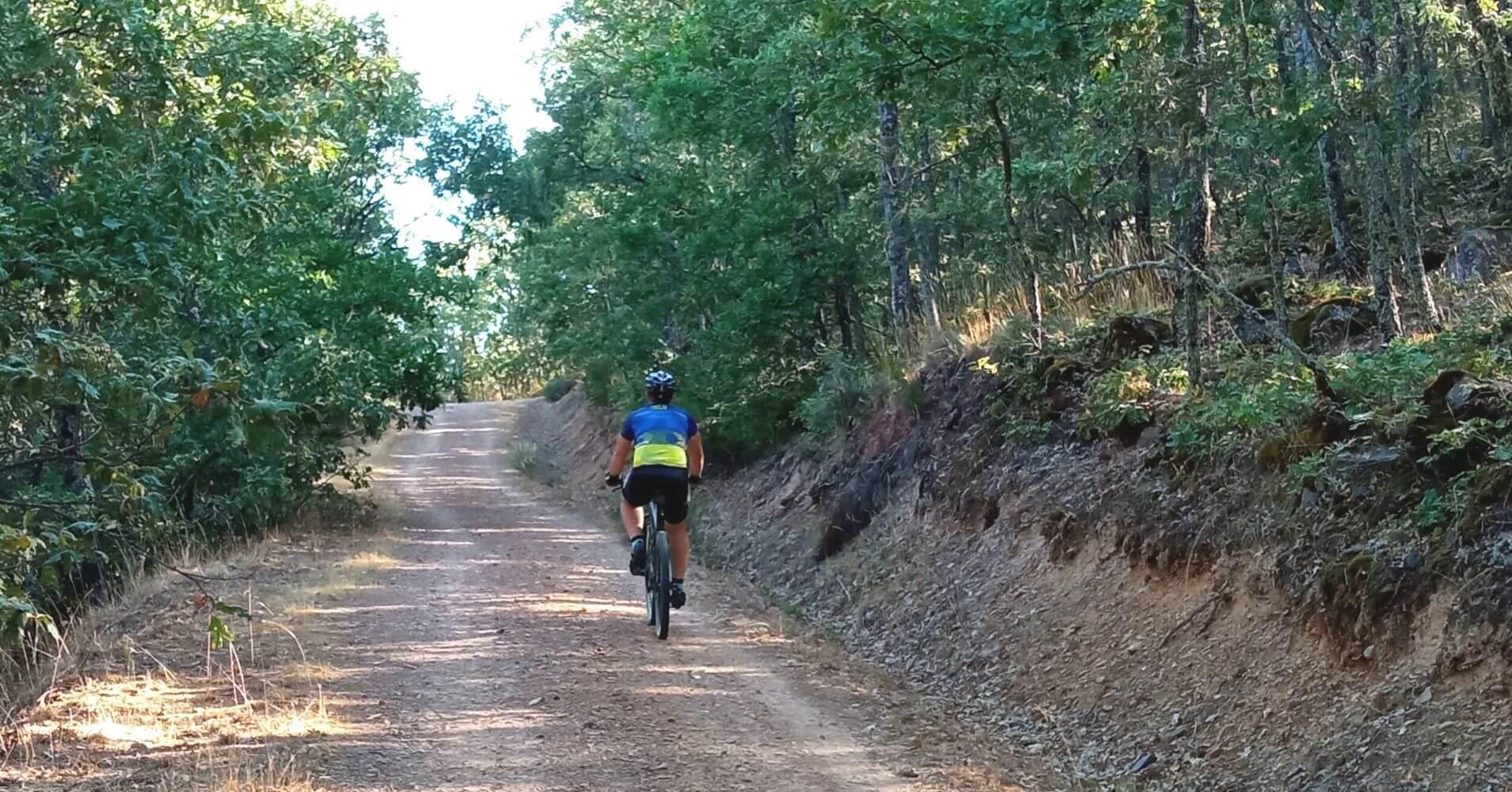 Ruta Mountain Bike en Los Montes de Toledo. Castilla la Mancha.