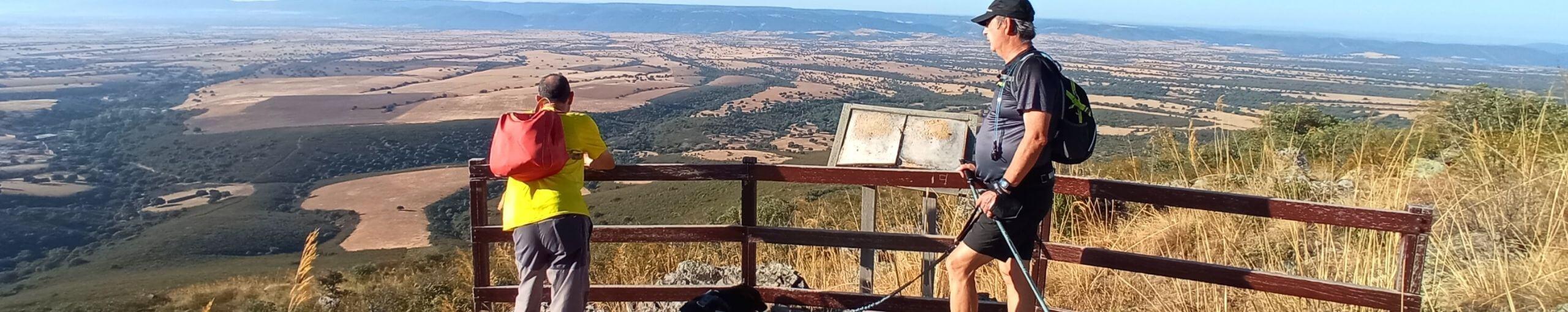 Ruta Puerto del Marchés. Montes de Toledo. Mirador de Cabañeros. Las Navillas, Toledo.