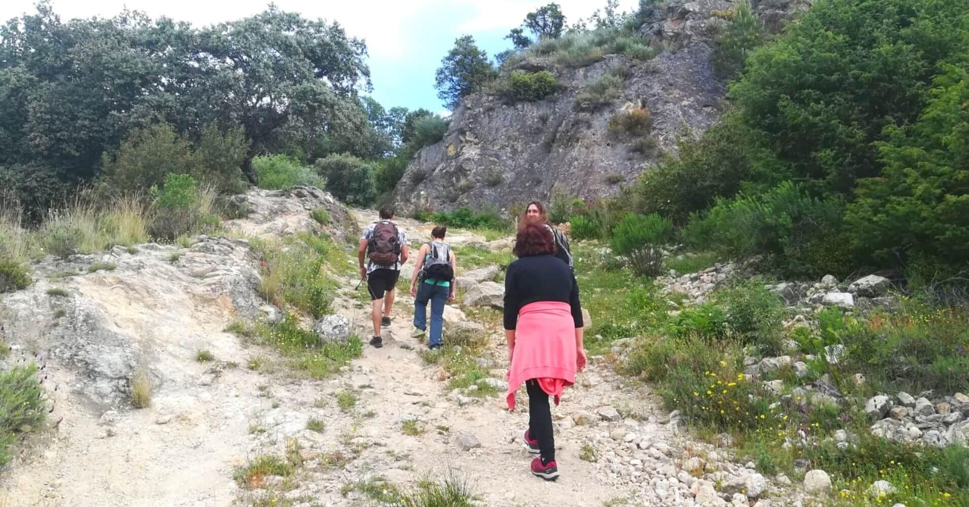 Ruta Senda de Pescadores. SL AV 3. Candeleda, Castilla y León.
