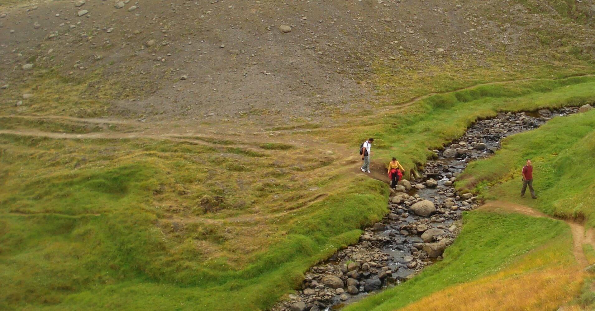 Ruta Senderismo Hallormsstadur Este de Islandia.