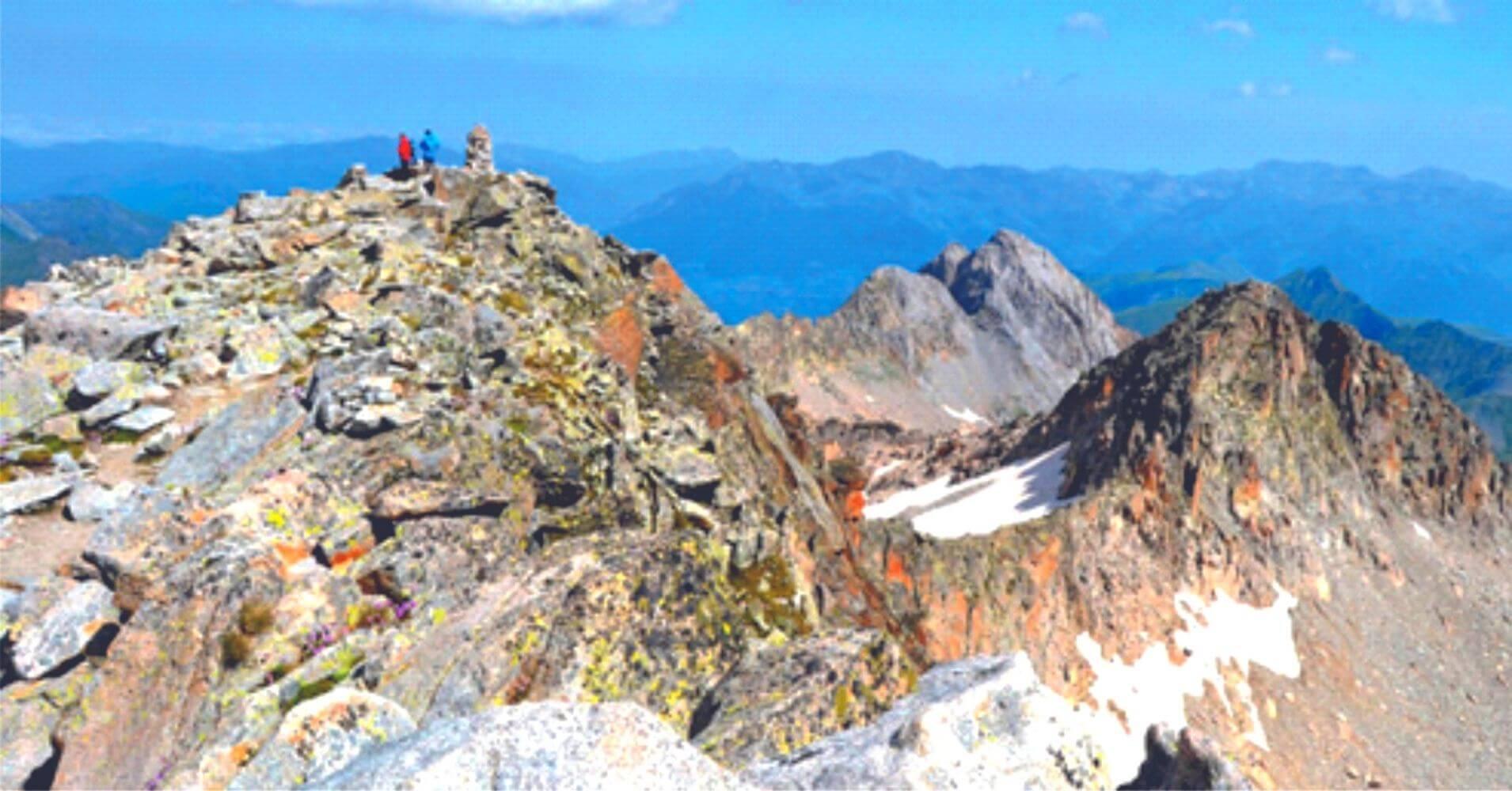 Rutas de Trekking en Summit Val d' Arán Festival. Lérida. Cataluña.