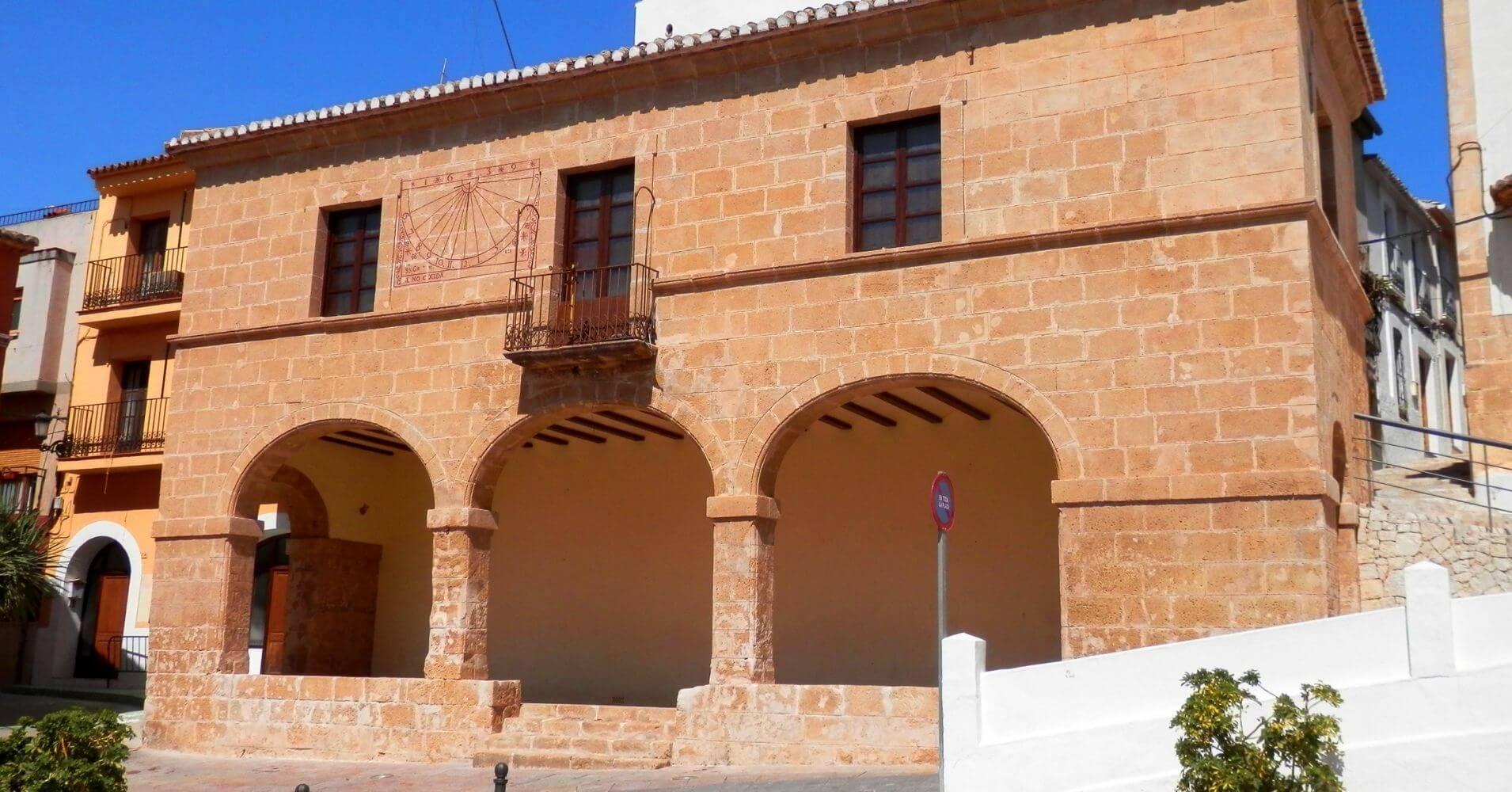 Sala de Jurados y Justicia. Teulada, Alicante. Comunidad Valenciana.