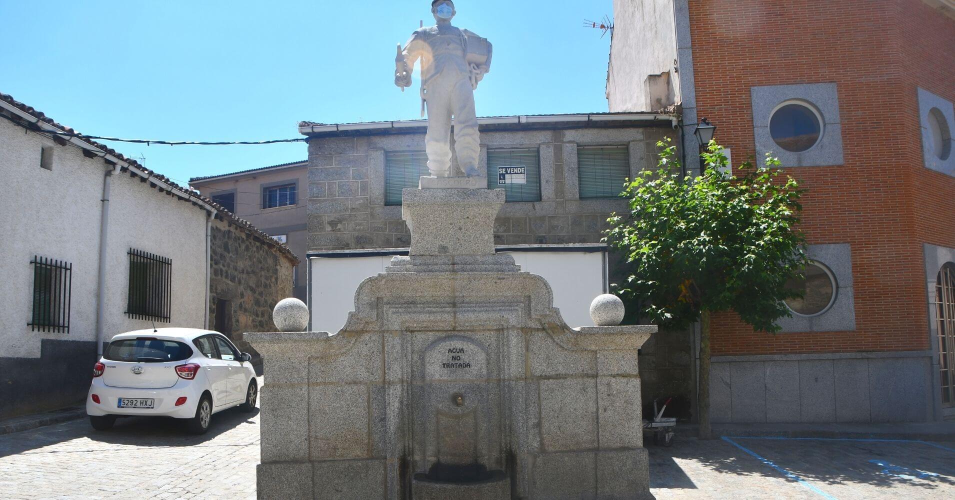San Bartolomé de Pinares en Ávila. Castilla y León.