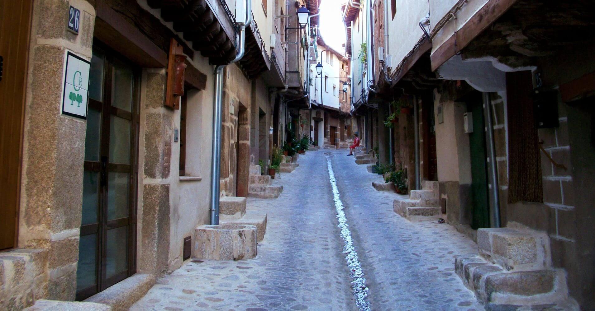 San Martín de Trevejo. Cáceres. Extremadura.