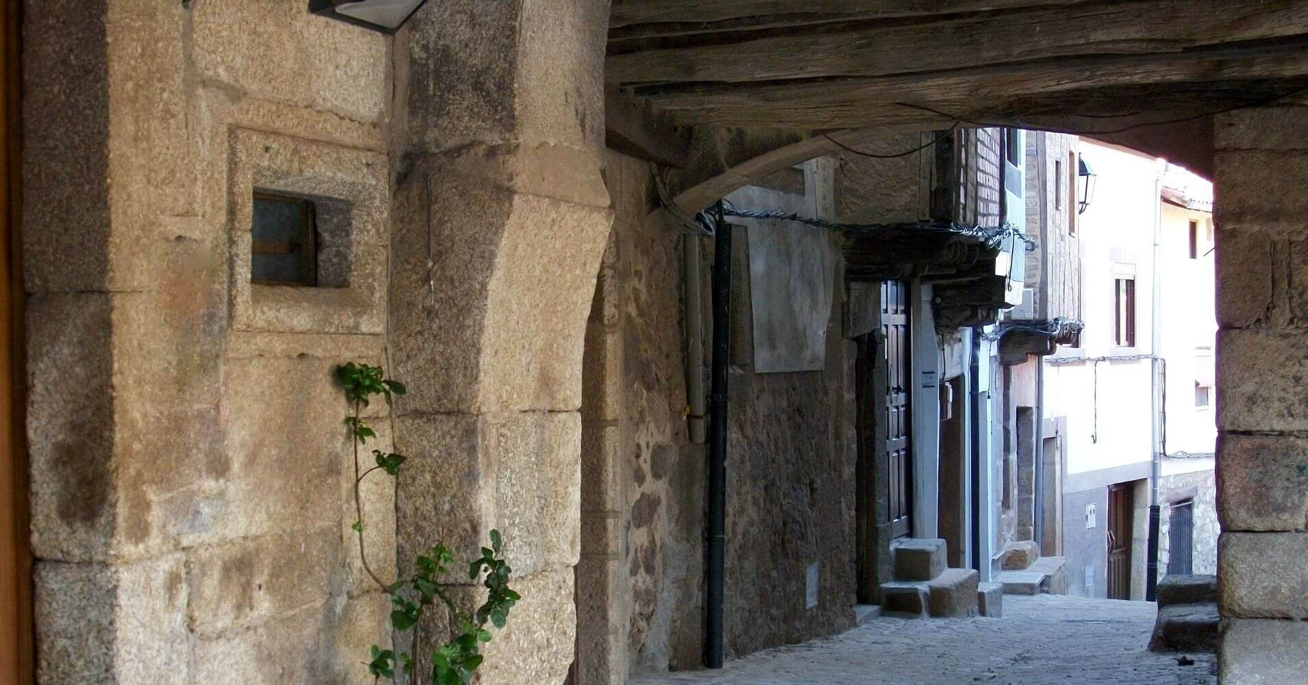 San Martín de Trevejo. Sierra de Gata. Cáceres. Extremadura.