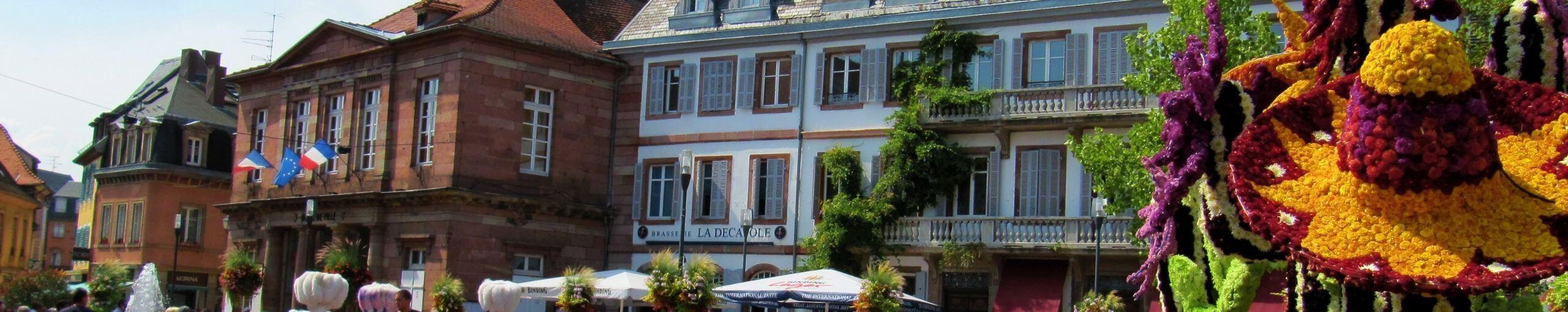 Sélestat Magia de Alsacia. Bajo Rin. Alsacia. Gran Este. Francia.