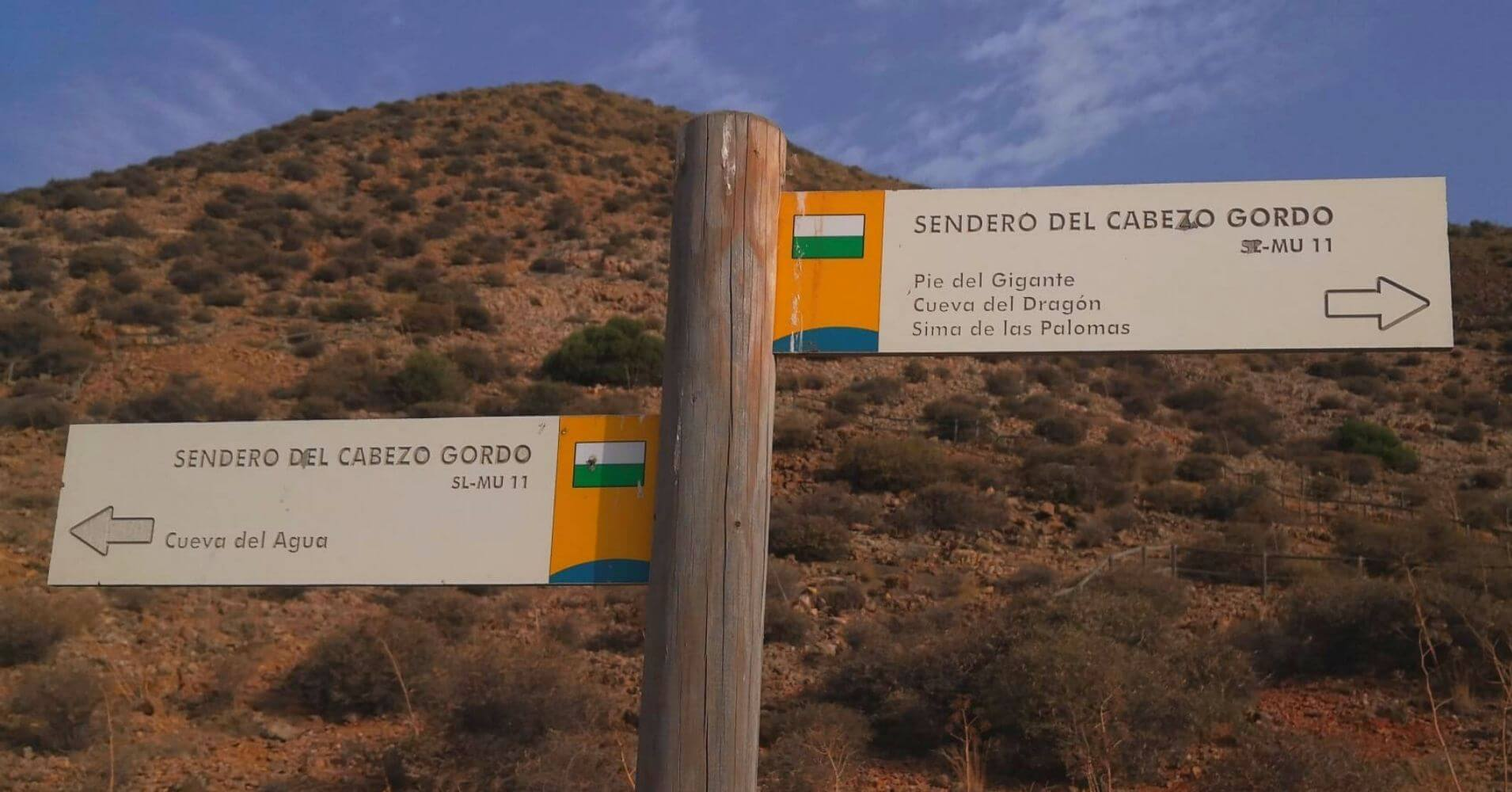 Sendero Local SL-MU 11 Cabezo Gordo. Torre Pacheco, Murcia.