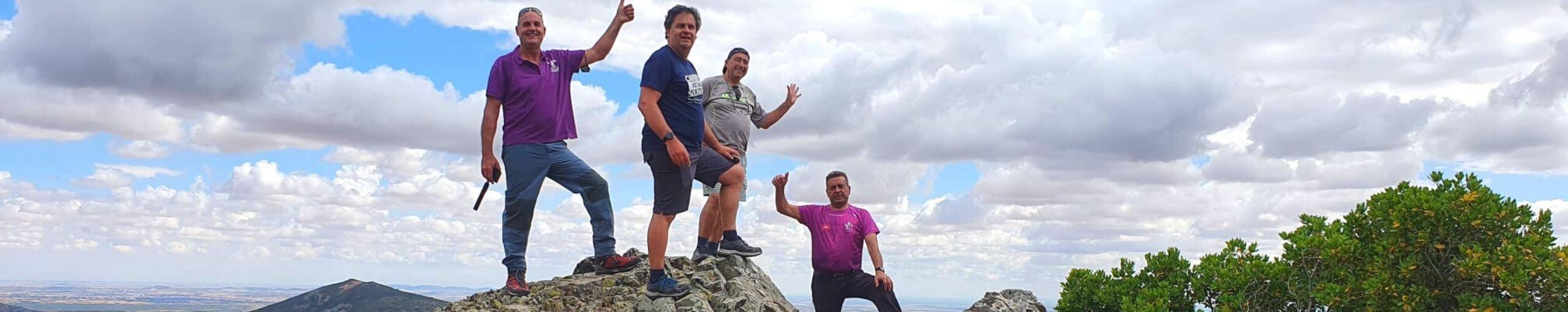 Sierra Calderina y Pico Chupadero
