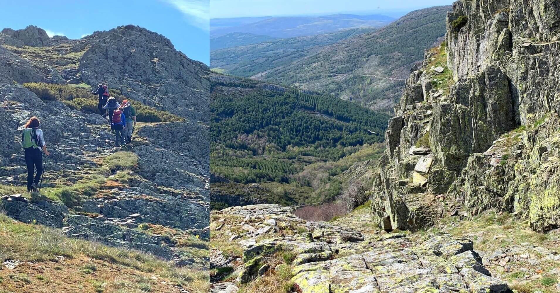 Sierra de Ayllón en Guadalajara, Castilla La Mancha.