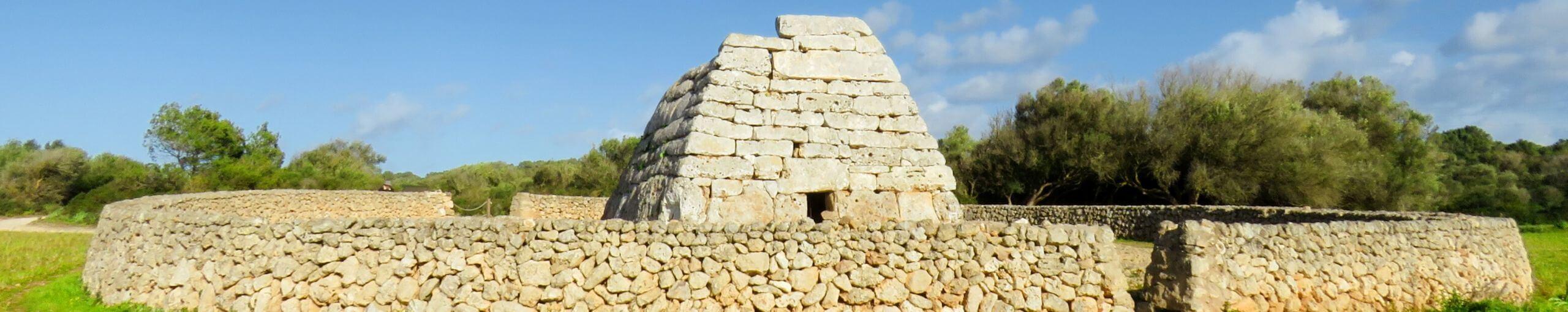 Siete días en Menorca. Naveta des Tolons, Menorca.
