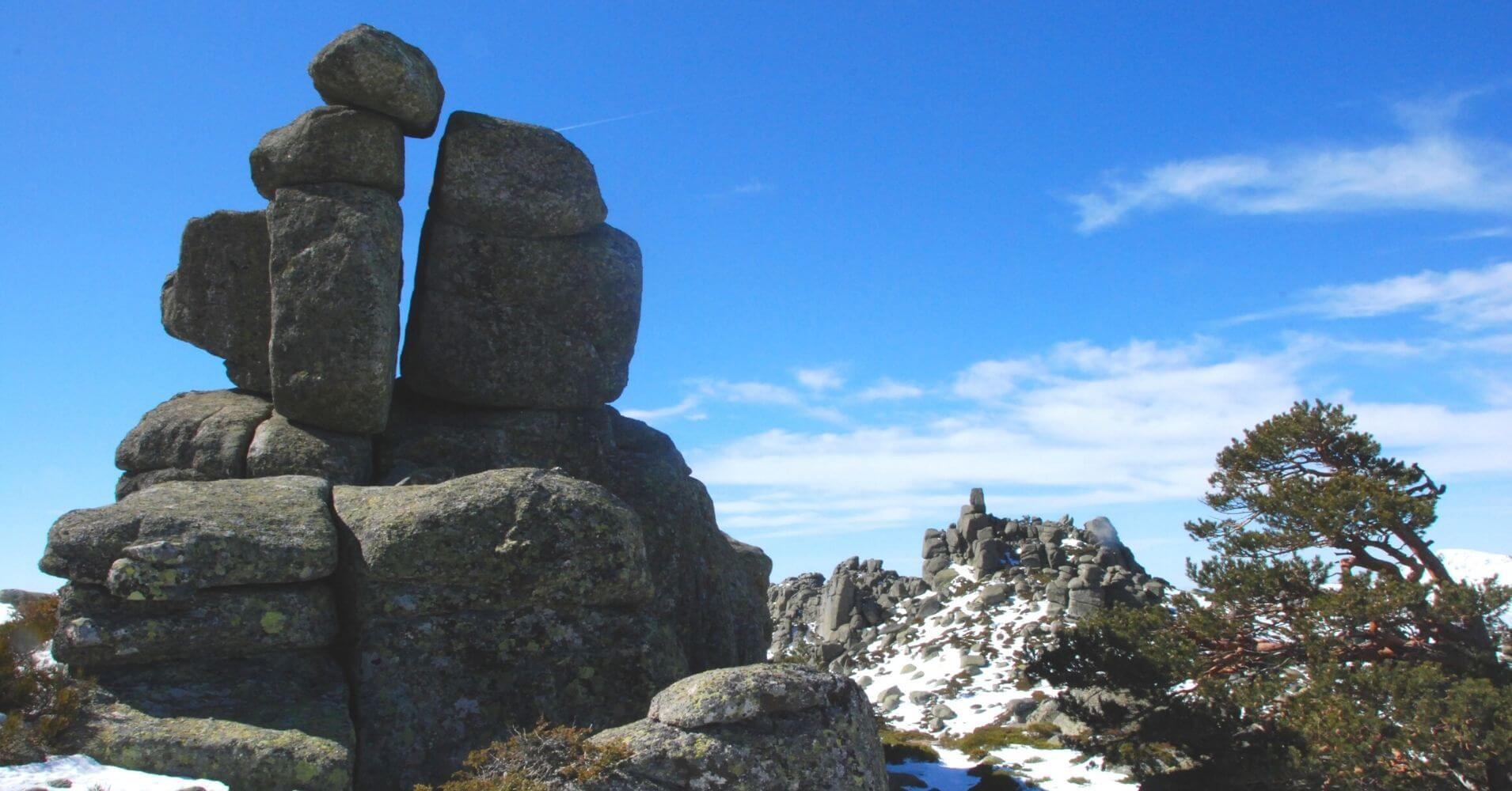 Siete Picos. Parque Nacional Sierra de Guadarrama. Comunidad de Madrid.