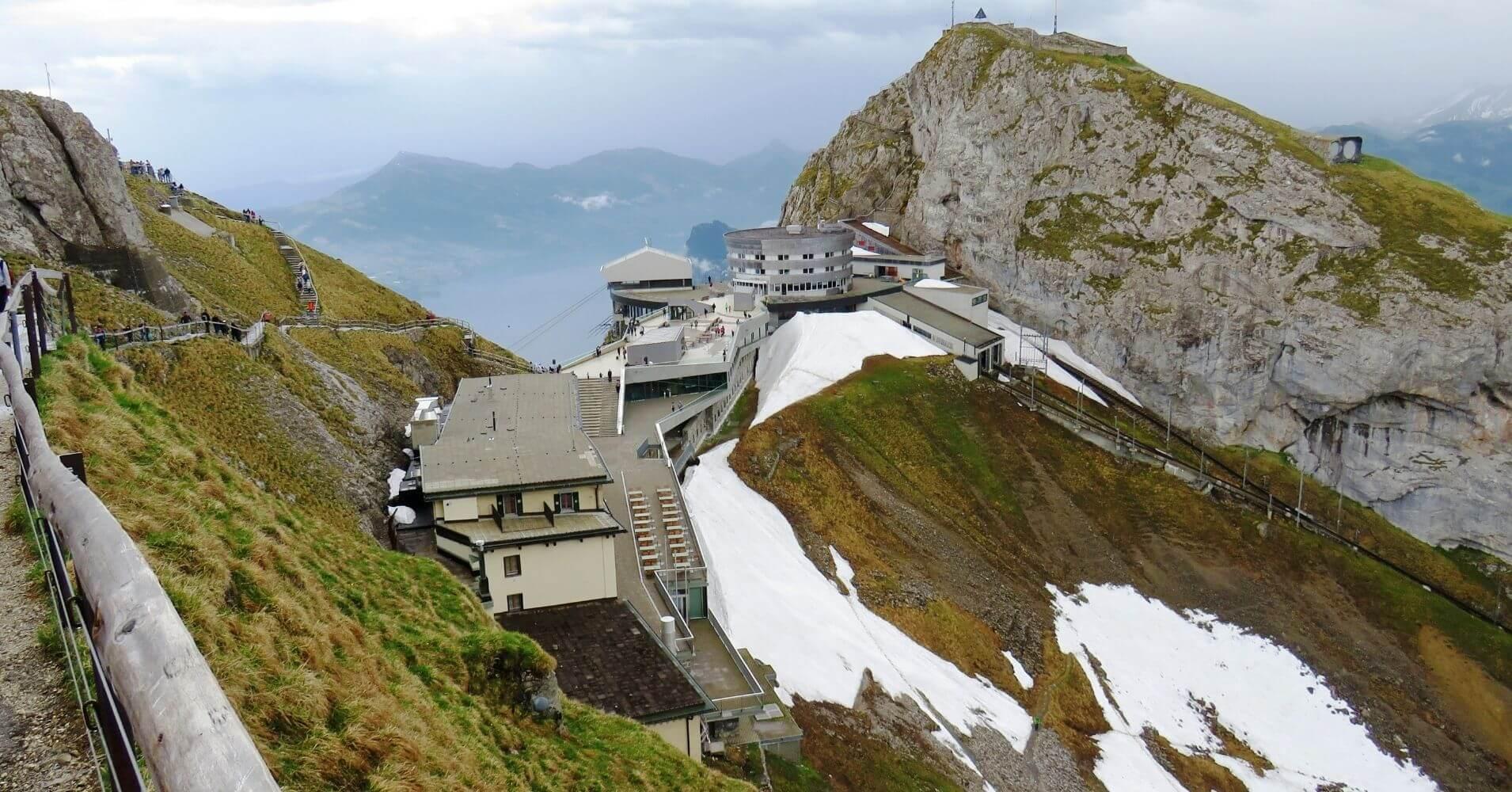 Subida a la Cumbre. Lucerna, Suiza.