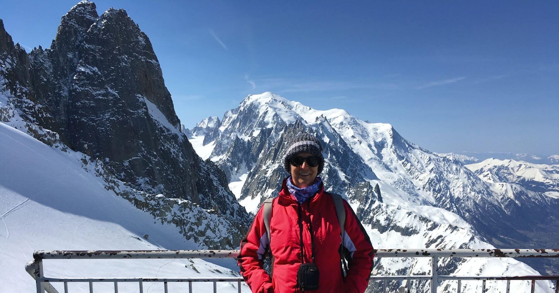 Terraza Panorámica de Les Grands Montents. Alta Saboya. Auvernia-Ródano-Alpes. Francia.