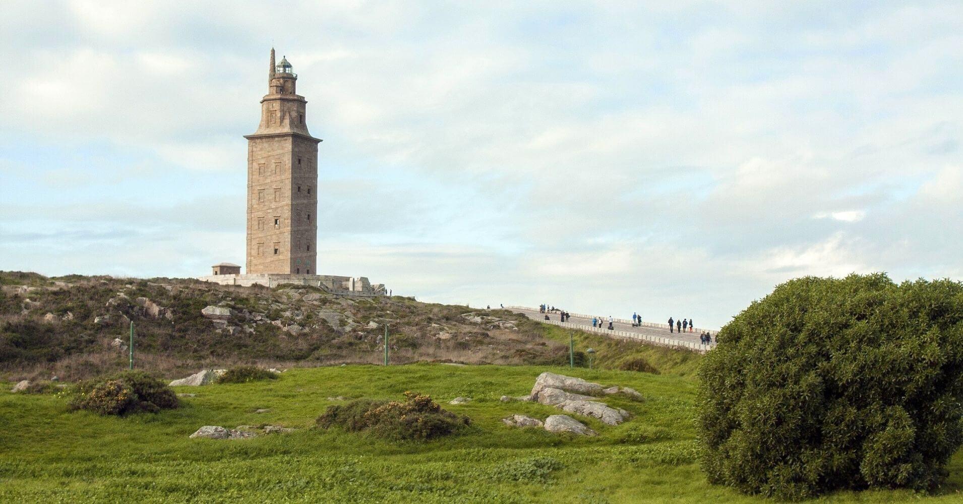 Torre de Hércules. A Coruña. Galicia, España.