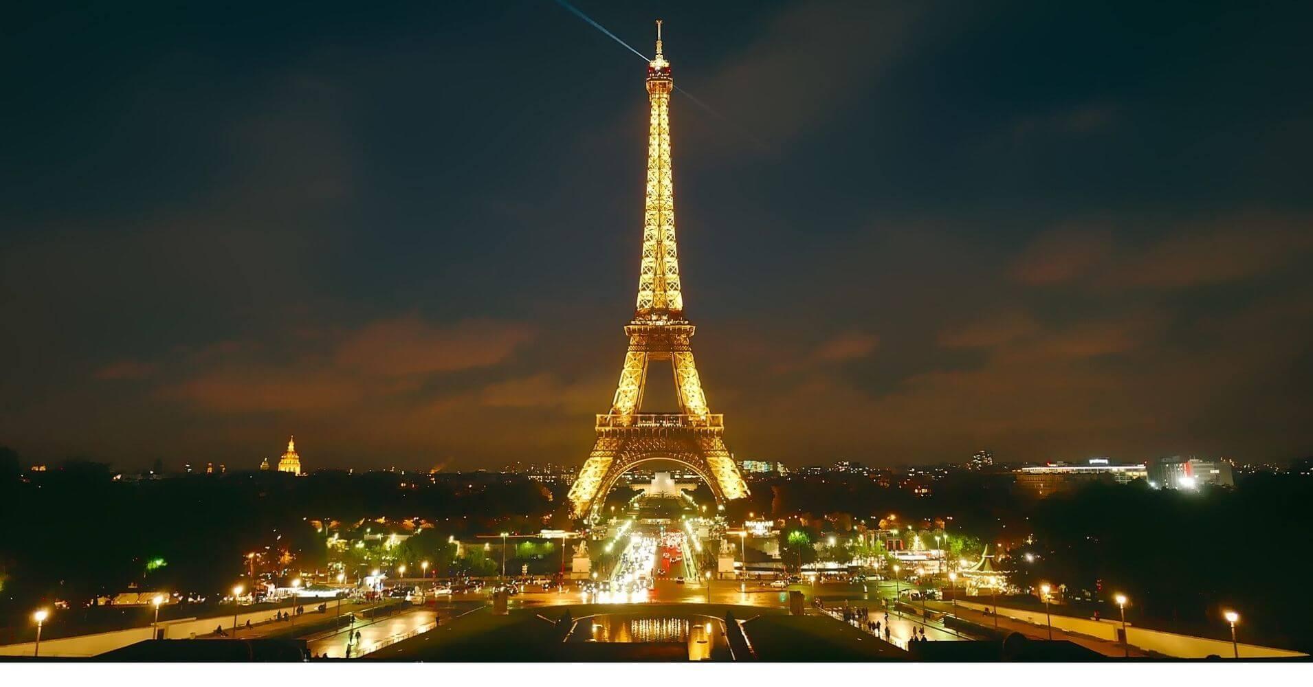 Torre Eiffel en París. Francia.