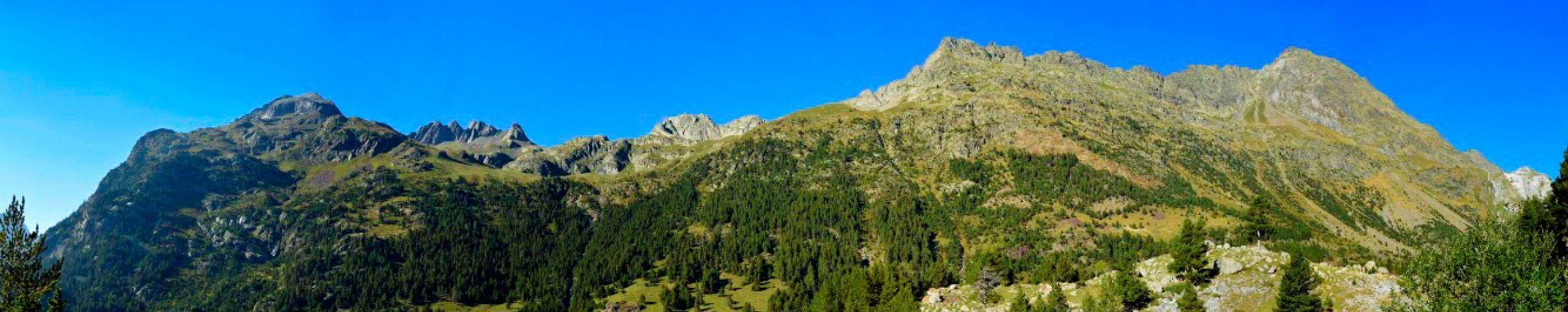 Tour del Aneto. Lérida, Huesca y Alto Garona. Cordillera de Pirineos.