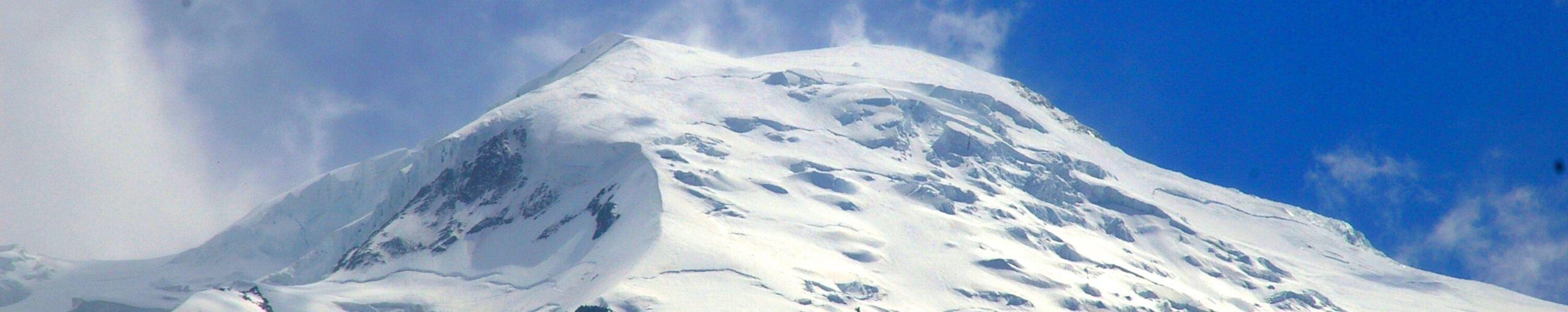 Tour del Mont Blanc. Cordillera de los Alpes. Francia.