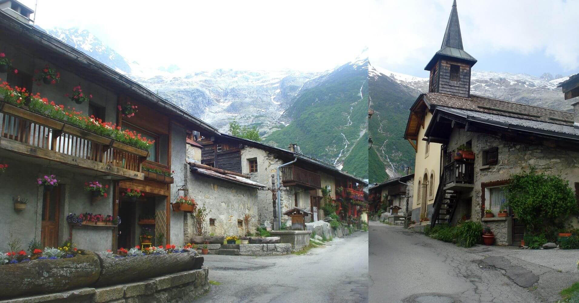 Tour del Mont Blanc. Italia, Suiza, Francia.