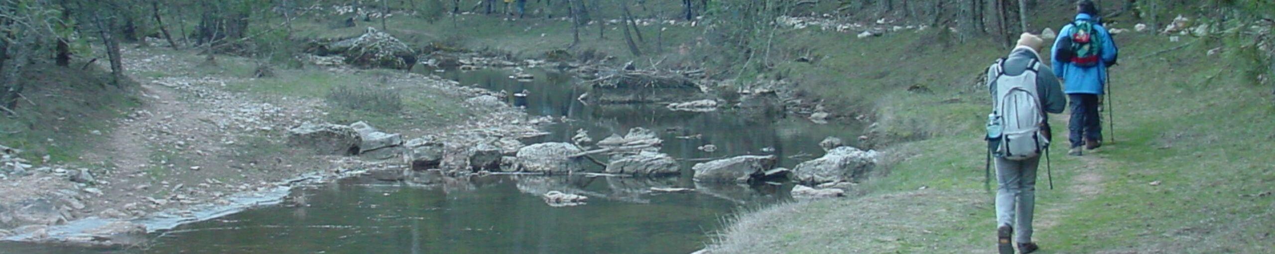 Parque Natural cañón del río Lobos. Castilla y León.