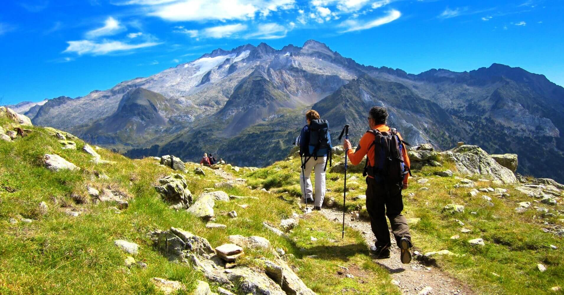 Travesía Tour del Aneto. Cordillera de los Pirineos. Cataluña. España.