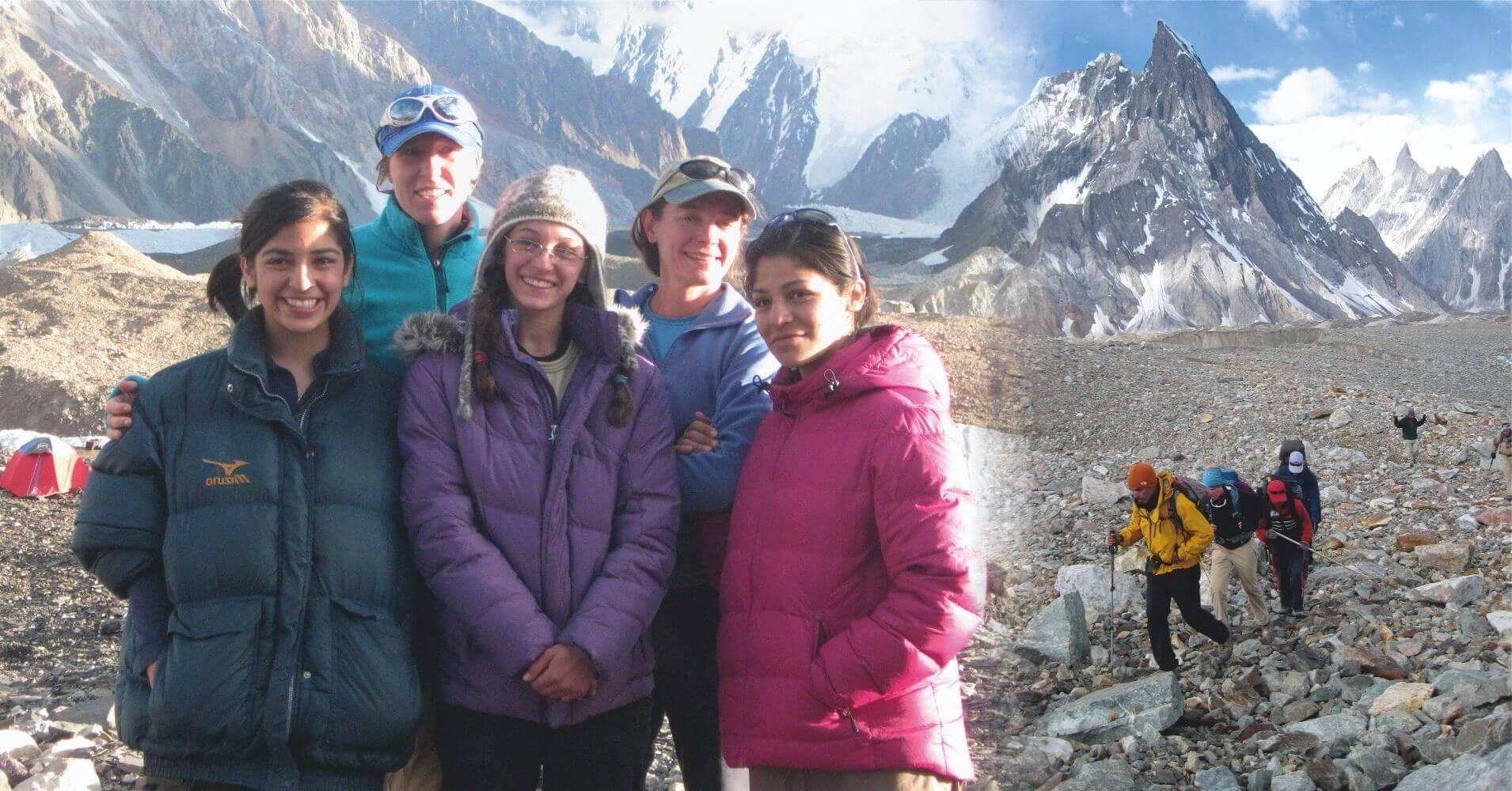 Trekking Campo Base del K2 en Pakistán.