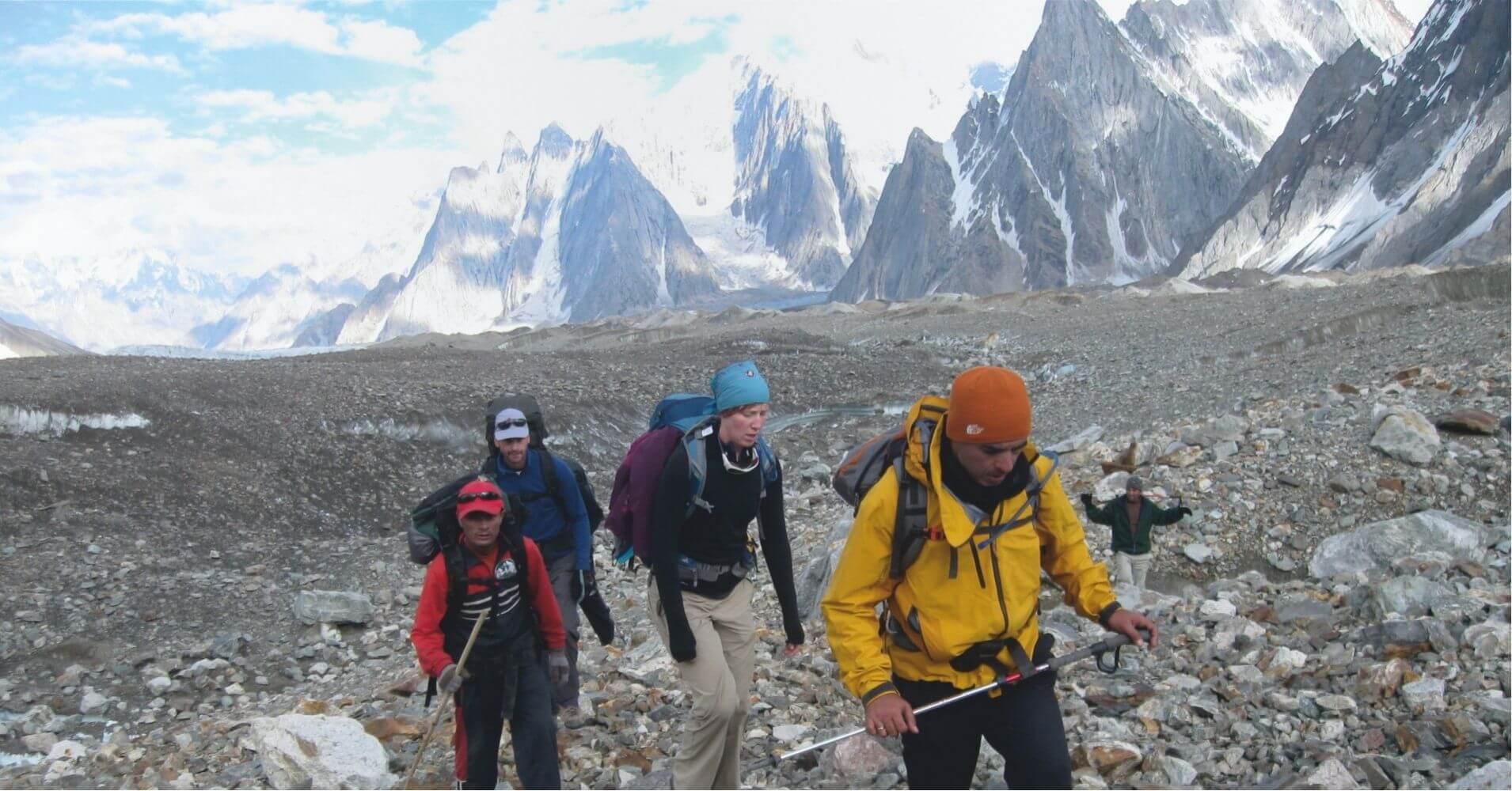 Trekking Campo Base del Pico K2, Pakistán.