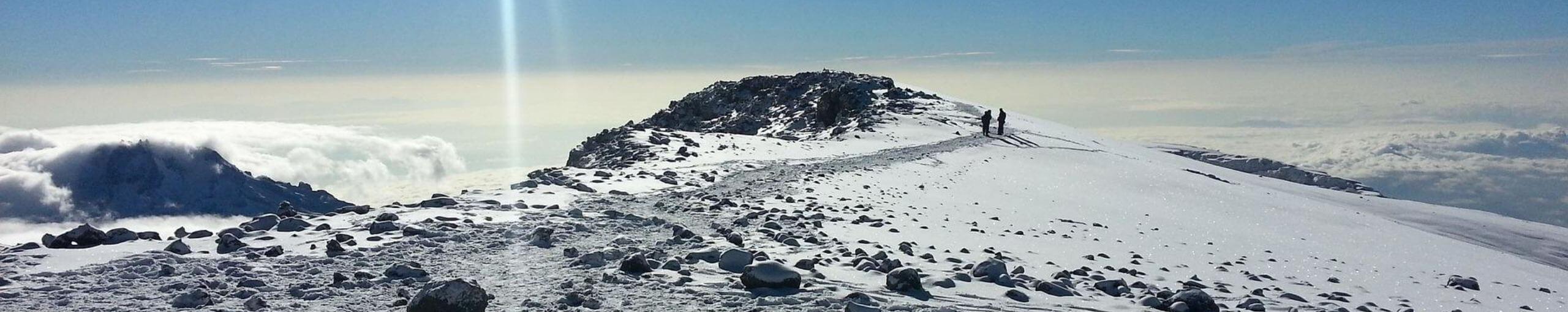 Trekking del Kilimanjaro. Tanzania.