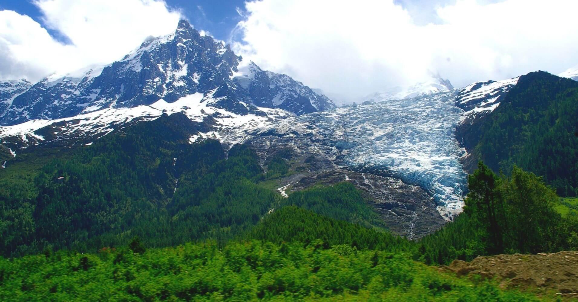 Trekking del Tour del Mont Blanc. Francia, Suiza, Italia.