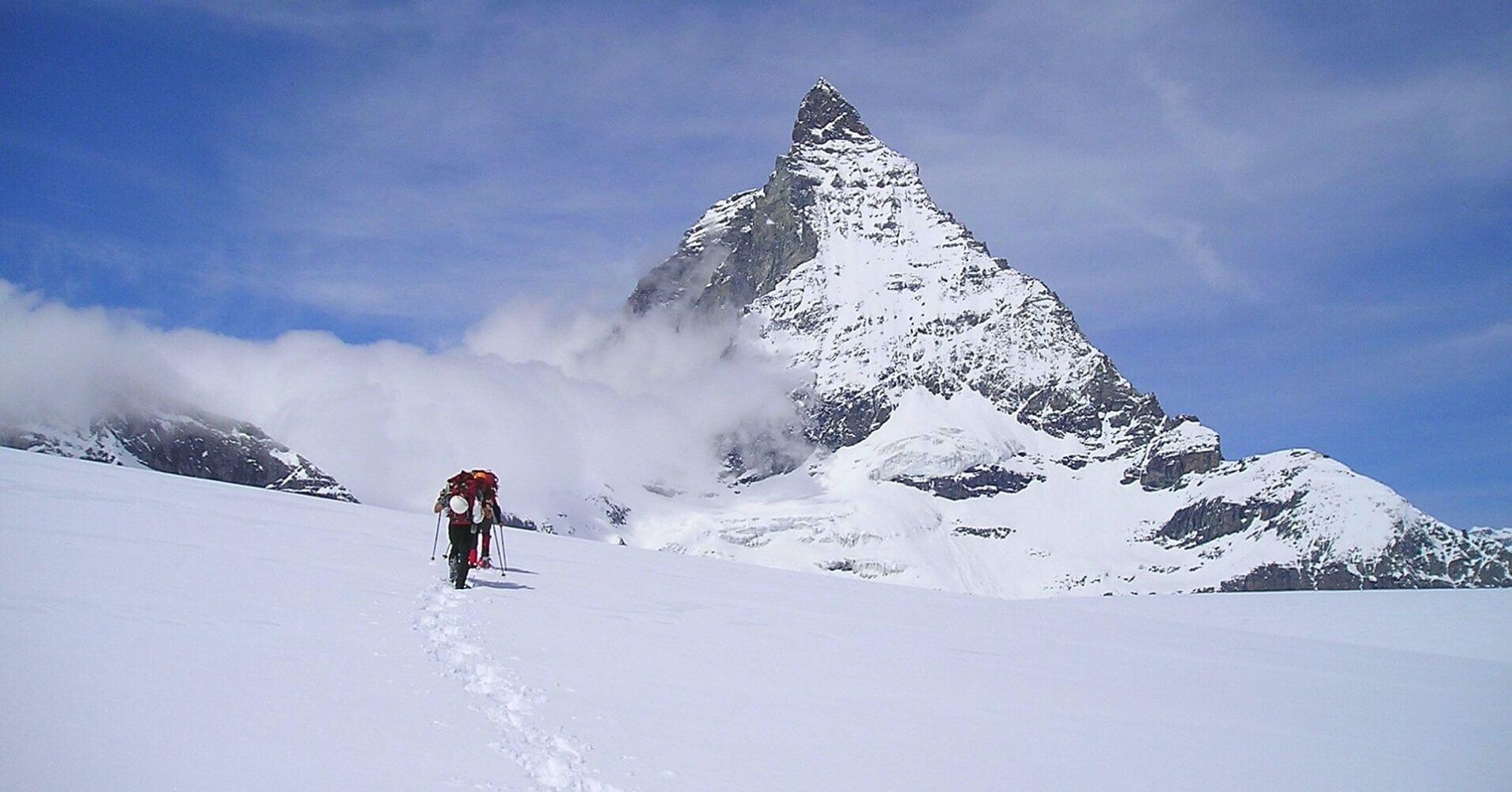 Trekking del Monte Cervino. Zermatt, Suiza.