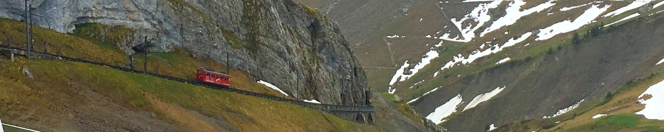 Tren de Cremallera del Monte Pilatus. Suiza.